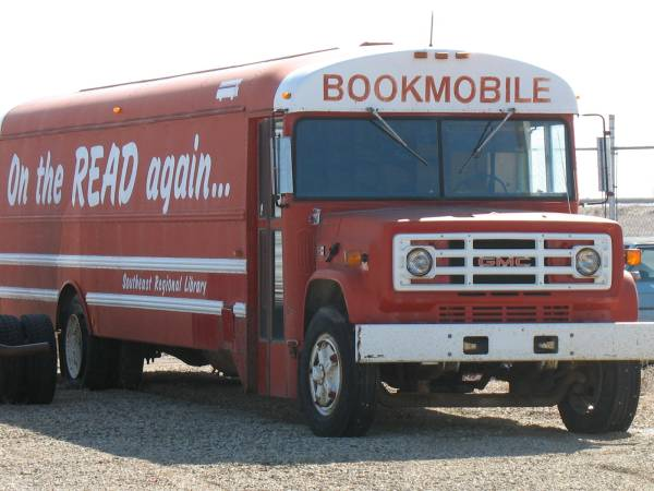 On the Read Again Bookmobile