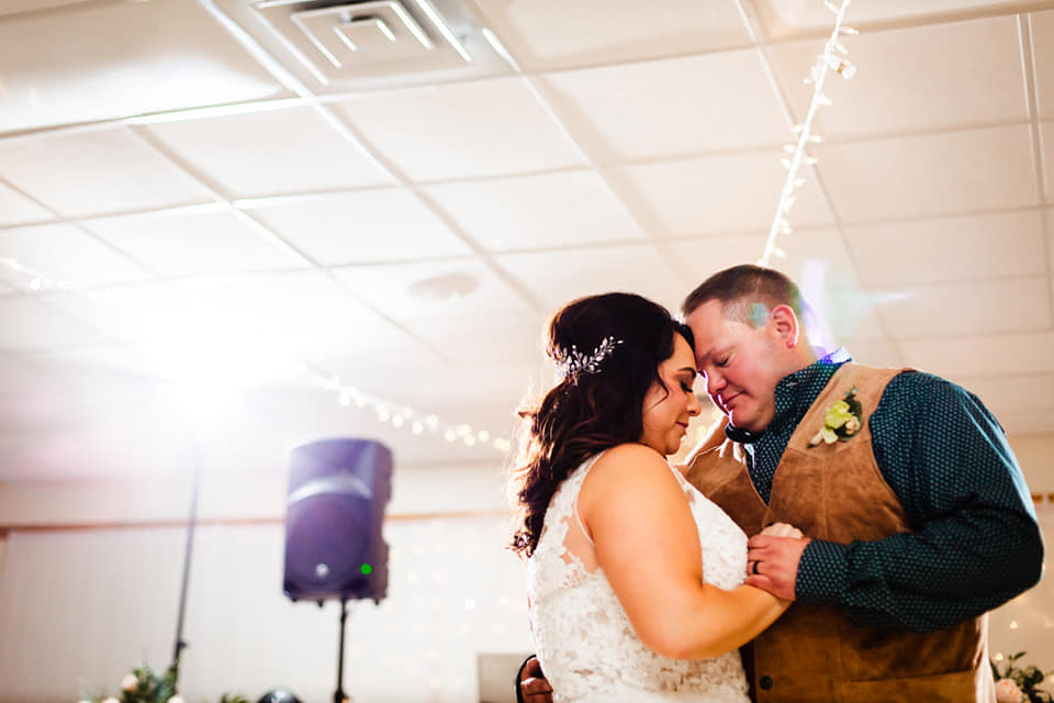 Wedding at Headwaters Arts and Conference Center