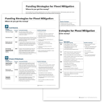 Image spread for Funding Strategies for Flood Mitigation.