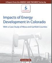 Cover for Colorado Energy Report