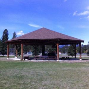 Hooper Park Pavilion, Lincoln, Montana