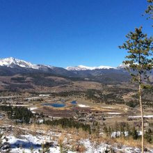 scenic vista of Summit County, Colorado
