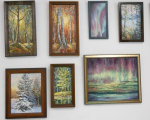 Landscapes and Water Based Oils (4 Session Course) @ Headwaters Music & Arts | Bemidji | Minnesota | United States