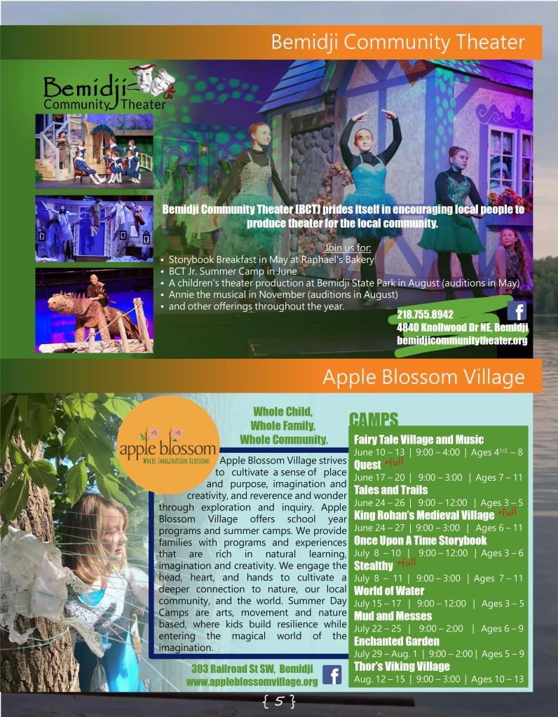 5  Bemidji Community Theater - Apple Blossom • Headwaters