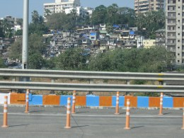 Slums, visible from the Sealink freeway