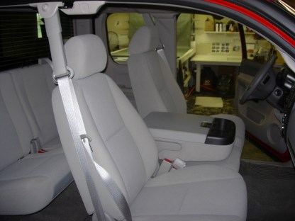 2007 - 2014 Chevy Suburban 40/20/40 with Opening Consoles Seat Covers