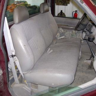 1995 - 2000 Chevy/GMC Solid Bench with Headrests Seat Covers