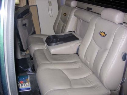 2000 - 2002 Chevy Avalanche Rear 60/40 Seat Covers