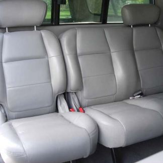 2001 - 2003 Ford F-150 Super Crew 60/40 (Leather Only) Seat Covers2001-2003 Ford F-150 Super Crew 60/40 Seat Covers (Leather Interiors Only)