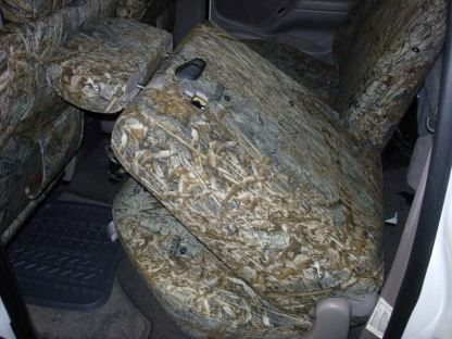 2001 - 2004 Tacoma Double Cab Rear 40/60 Seat Covers
