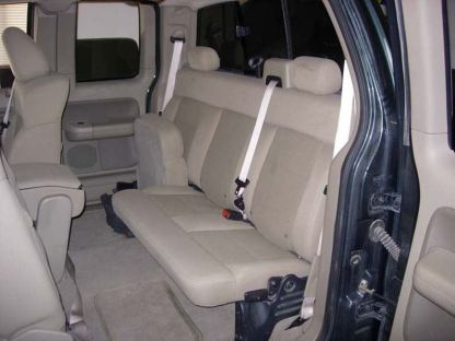 2004 - 2008 Ford F-150 Super Cab 60/40 Split Bench Seat Covers