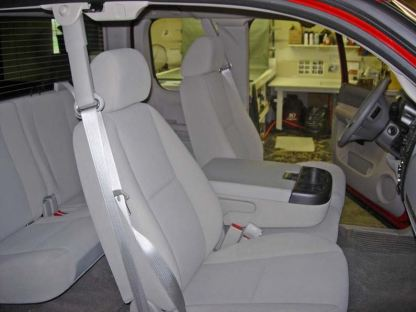2007 - 2014 GMC Yukon 40/20/40 with Opening Consoles Seat Covers