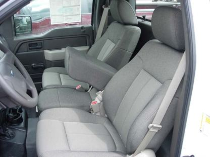 2009 - 2010 Ford F-150 40/20/40 with Non-Opening Armrest Seat Covers