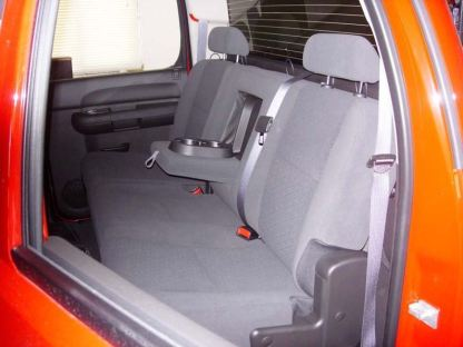2007 - 2014 Chevy/GMC Crew Cab Rear 60/40 with Armrest Seat Covers