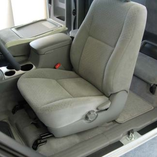 2009 - 2015 Tacoma Buckets with Fold Flat Passenger Backrest Seat Covers