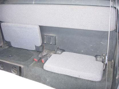 2001 - 2004 Tacoma Access Cab Rear 50/50 Bottom Bench Top Seat Covers