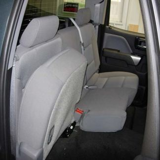 2014 - 2019 Chevy/GMC Double Cab Rear 60/40 Seat Covers