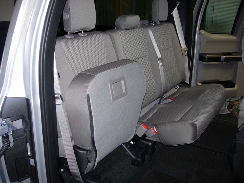 2015 2019 Ford F 150 Super Cab 60 40 Rear Seat Covers
