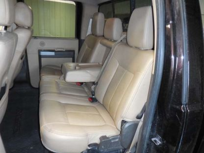 2011 - 2016 Ford F-250-550 XLT & Lariat Super Crew Rear 60/40 with Armrest Seat Covers