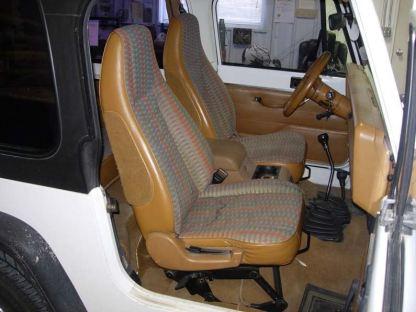 1992 - 1996 Jeep Wrangler Bucket Seat Covers
