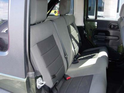 2007 - 2010 Jeep Wrangler 4 Door Rear 40/60 Seat Covers