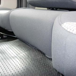 2005 - 2009 Dodge 40/20/40 Upholstered Flap, Opening Upper Console, Non-Opening Middle Bottom Seat Covers