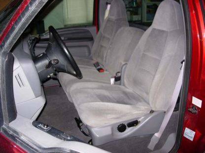 1999 - 2009 Ford F-250-550 40/20/40 with Opening Console Seat Covers