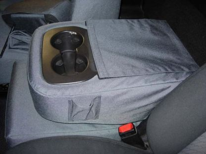 2007 - 2014 Chevy Tahoe 40/20/40 2 Drink Console with OUR Lid Cover Seat Covers