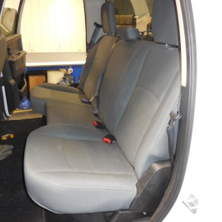2011 - 2012 RAM Quad Rear Solid Bench Seat Covers