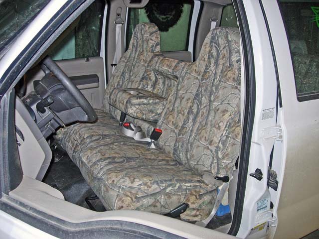 2008 2010 F-250-450 XL Crew Front Bench with arm