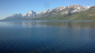 Jackson Lake! Beautiful section but lots of Tourons!