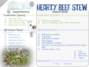 round 1 HEARTY BEEF STEW card