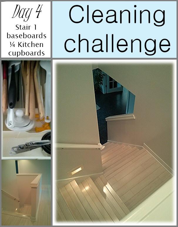 GET CLEAN CHALLENGE day 4