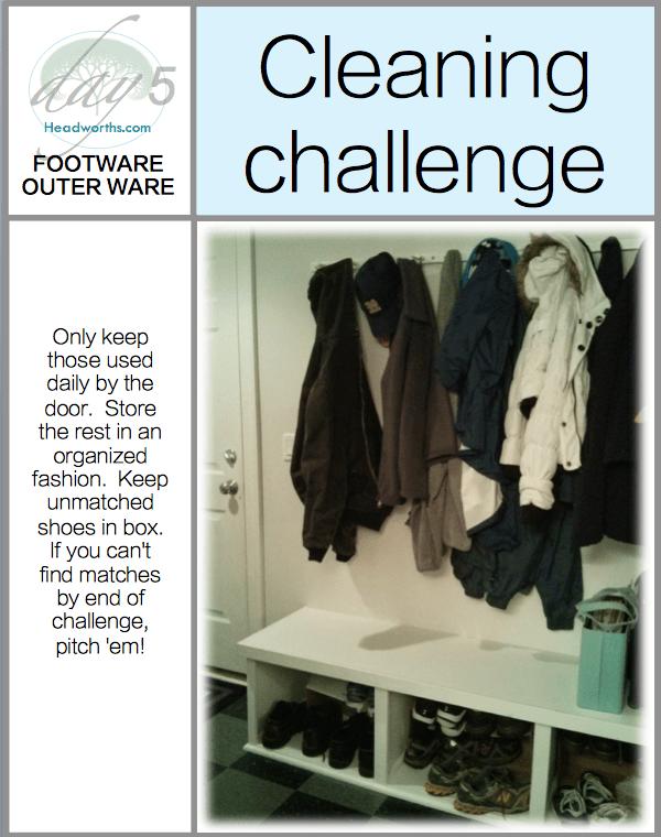 GET CLEAN CHALLENGE day 5
