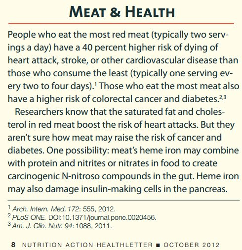 MEAT & HEALTH