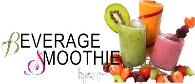 healthy fast food BEVERAGE SMOOTHIE3