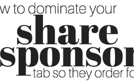 3 share sponsor