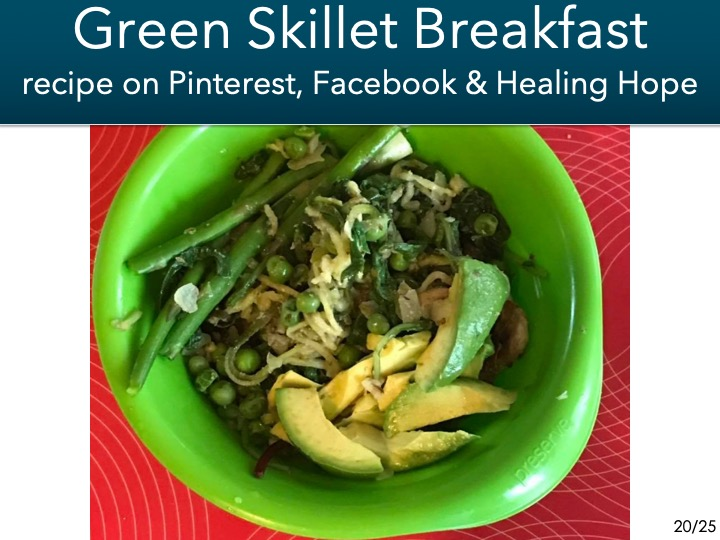 -green skillet breakfast