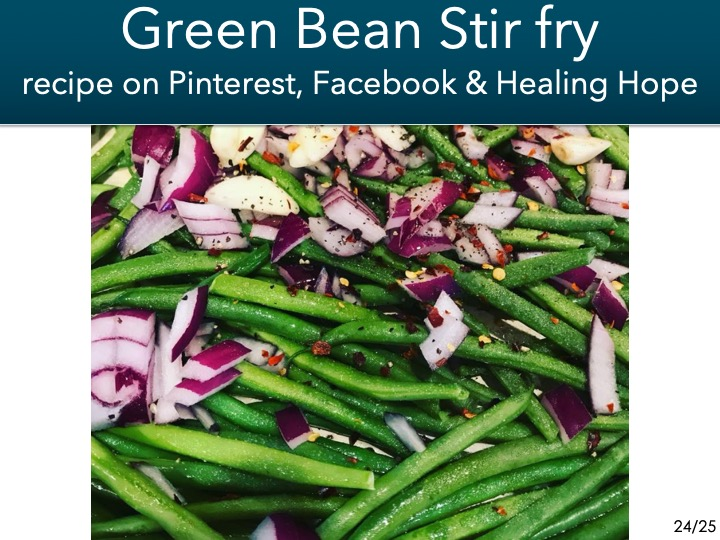 -green bean stir fry