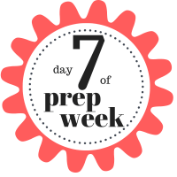 Shaklee 7 Day Healthy Cleanse day 7 of prep week