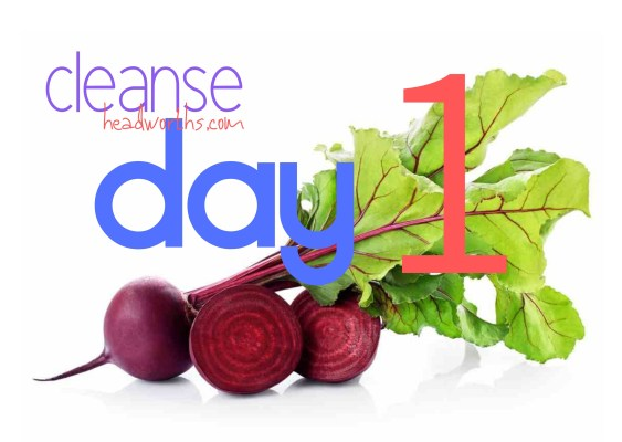 cleanse blog icon day 1