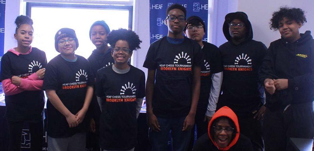 HEAF's chess team, the Brooklyn Knights