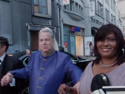 Paul-Loup Sulitzer and Supriya Rathoar in Liège 5/5/17