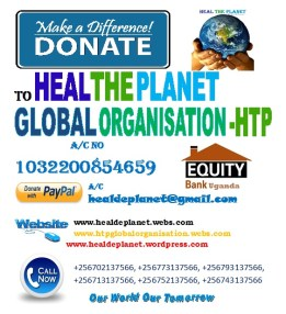 Donate to Heal The Planet Global Organisation-HTP