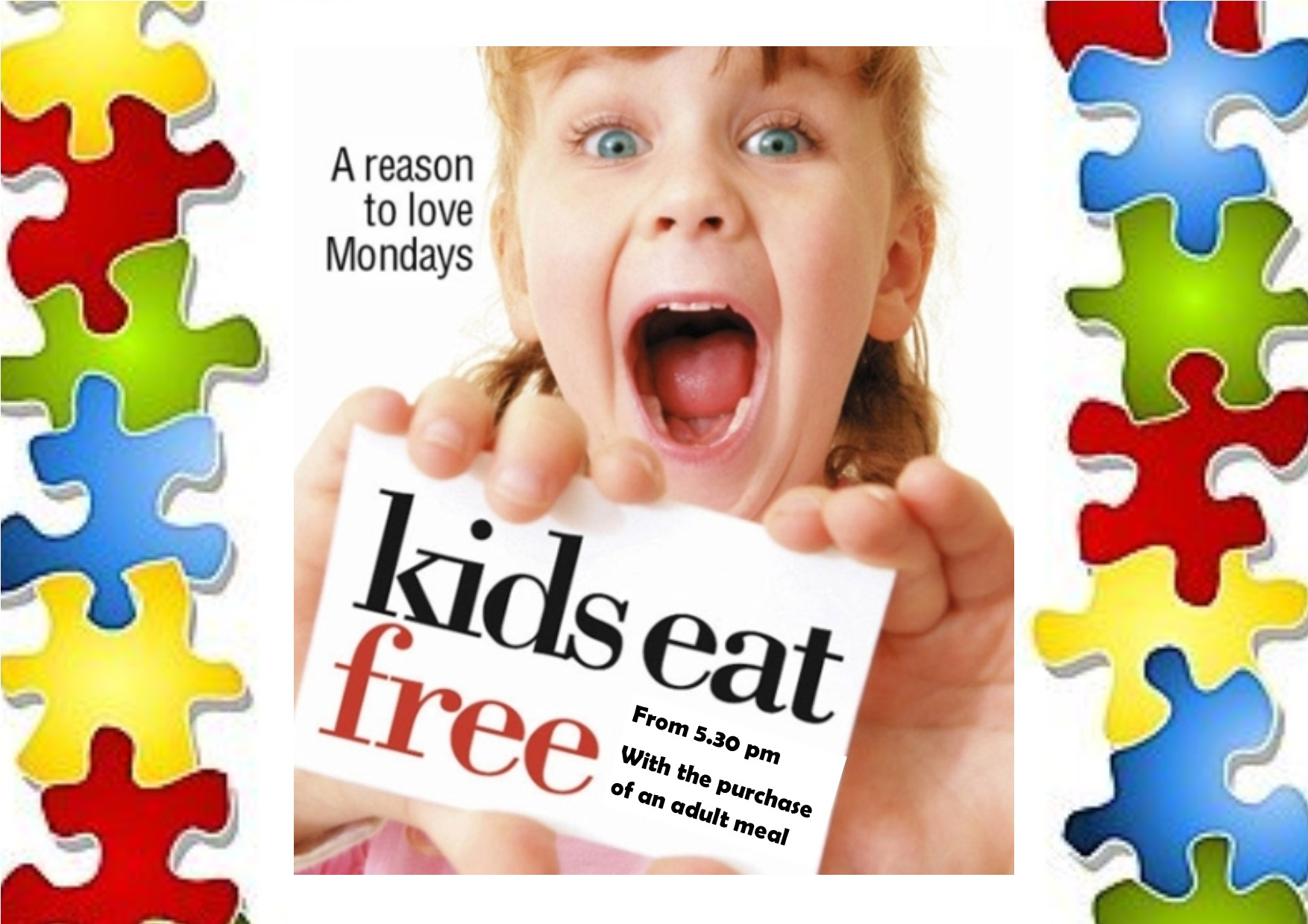 Kids Eat Free Monday