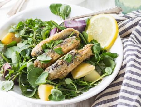 mackerel-salad