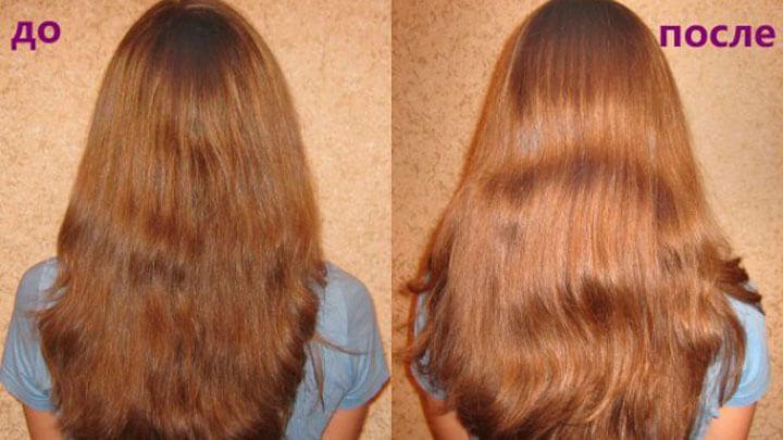 осветление волос блеск с корицей
