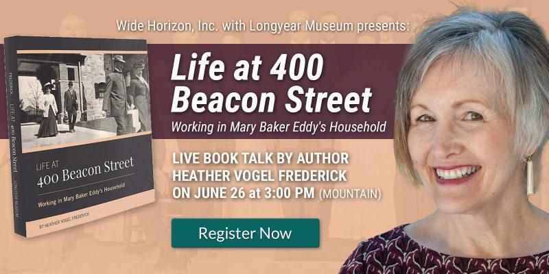 Life at 400 Beacon St. - Author Talk on 6/26/21