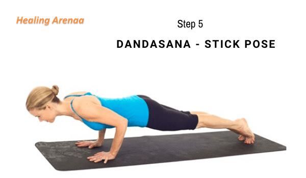 Dandasana (Stick Pose)