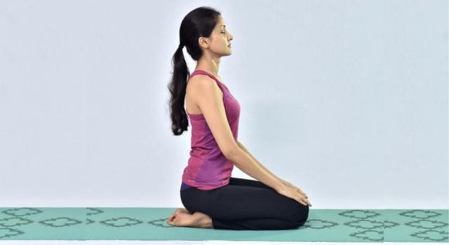 Vajrasana Meditation Pose